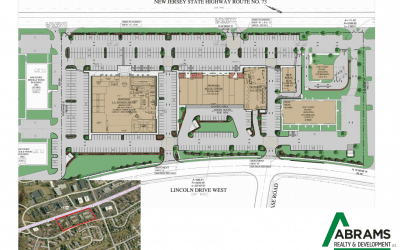 Abrams Realty & Development and Lazgor LLC development at Lincoln Drive West