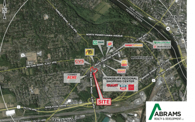 Abrams Realty & Development and Onyx Equities Develop Pennsbury Plaza